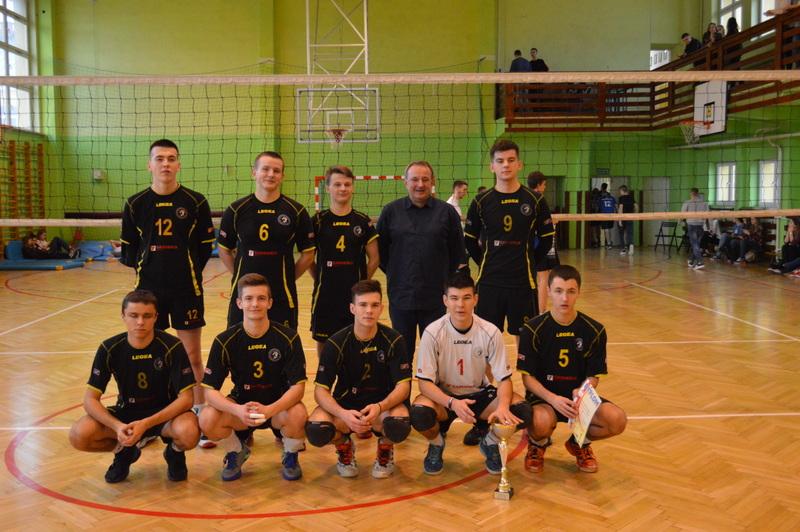 Mistrzowie Powiatu w Piłce Siatkowej Licealiada 2016