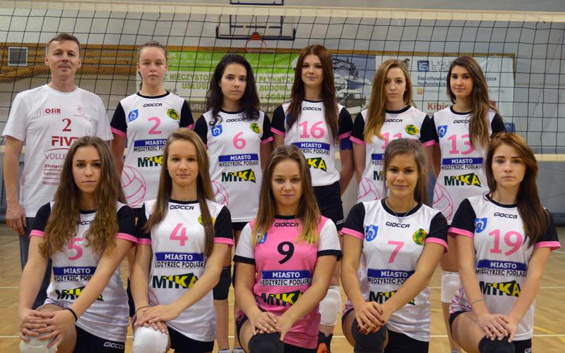 UKS Międzyrzecka Trójka MIKA Międzyrzec Podlaski - Juniorki Sezon 2015/2016