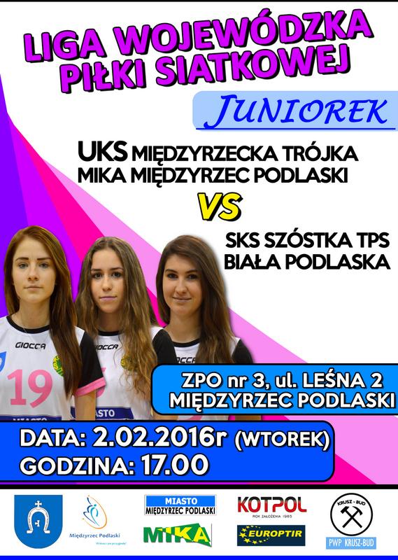 Ostatni mecz juniorek w sezonie 2015-2016