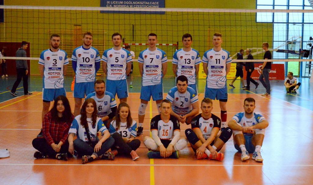 Półfinał o 1 Ligę Częstochowa 2016