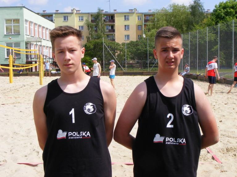 UKS MIKA II zespół: Paweł Grochowski/Kacper Kalinowski