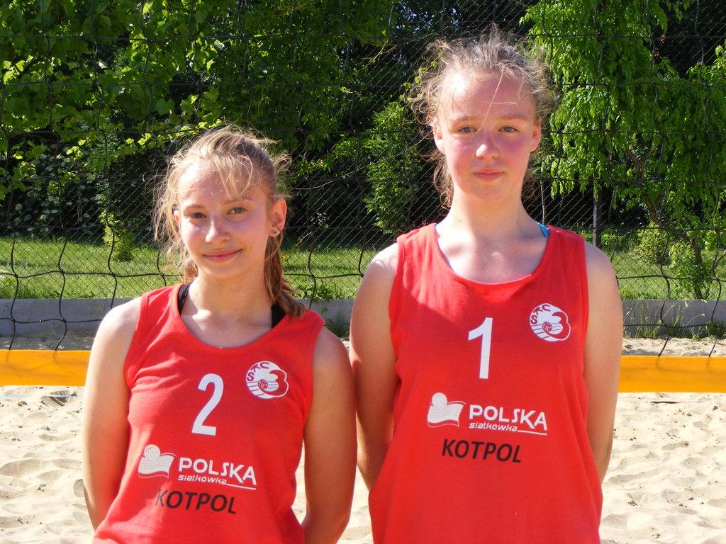 Wicemistrzynie Województwa Młodziczek w Piłce Siatkowej Plażowej 2016