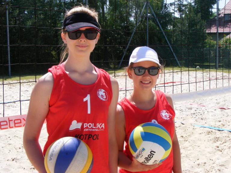Aleksandra Chwedoruk i Weronika Dybczak