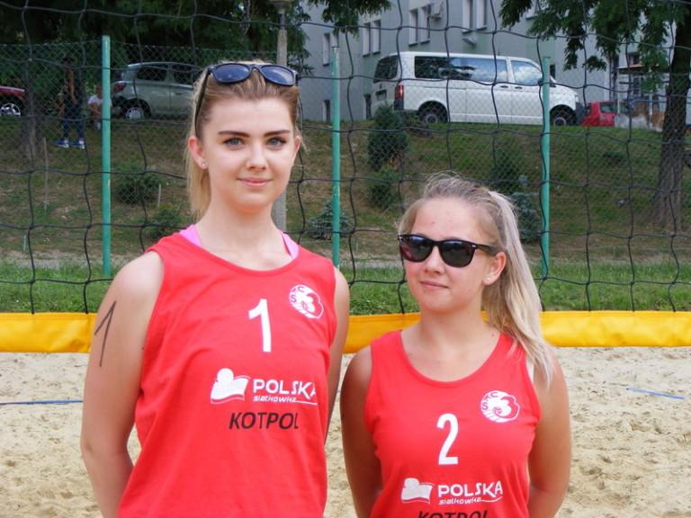 Aleksandra Chwedoruk nr1 i Weronika Dybczak nr2