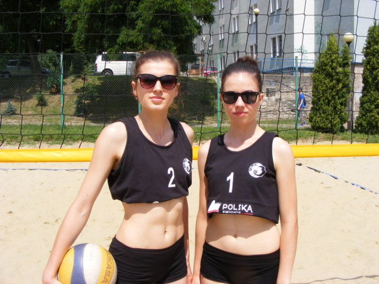 Małgorzata Buczak nr2 i Anita Celińska nr 1