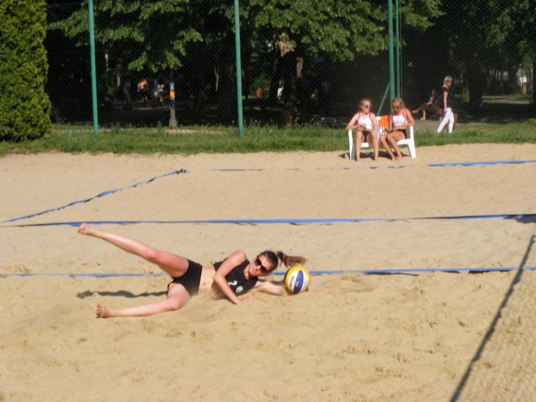 W piachu Małgorzata Buczak