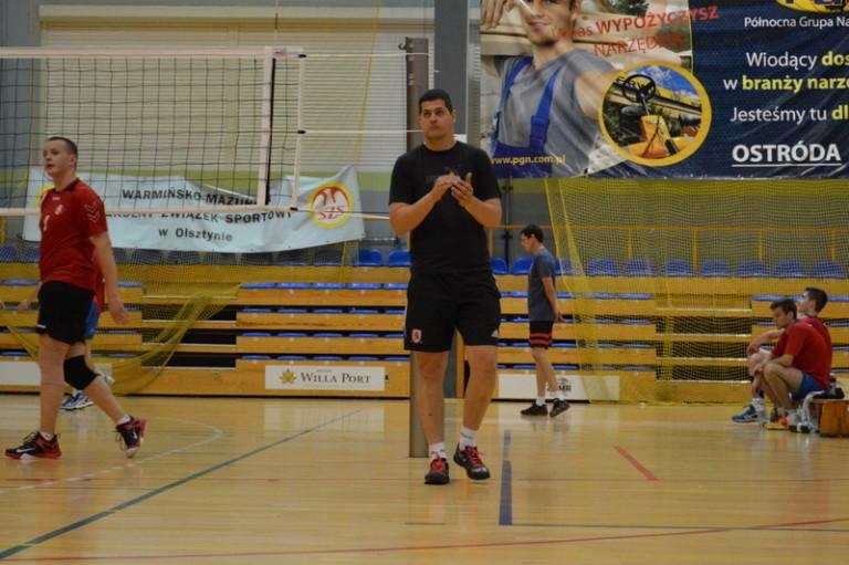 Trener Marcin Śliwa