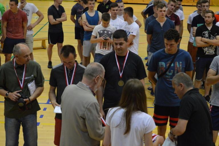 Trener doceniony przez organizatorów