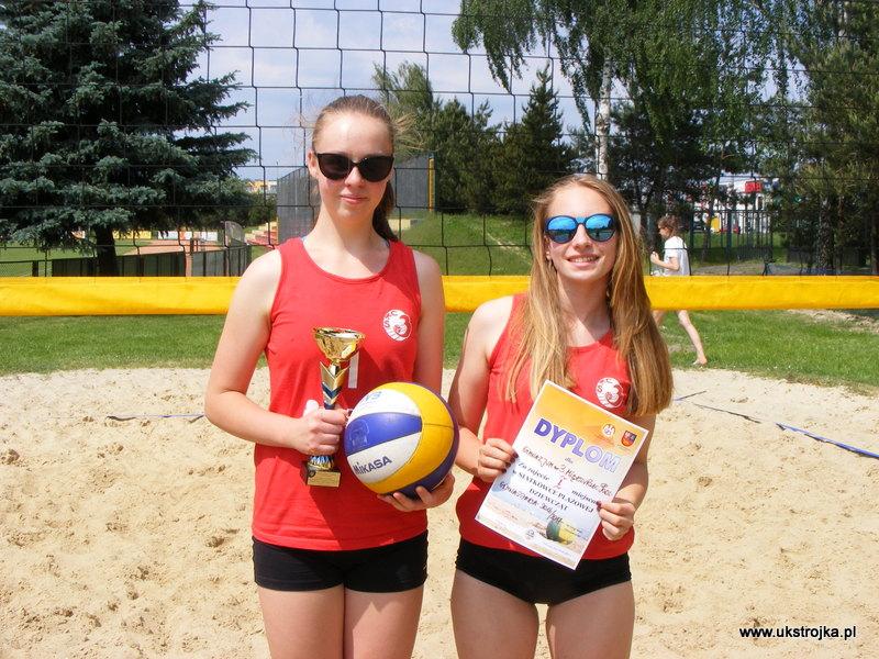 Mistrzynie Półfinału Gimnazjady 2017 w Piłce Siatkowej Plażowej