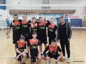 Młodzicy UKS Międzyrzecka Trójka I w sezonie 2018/2019