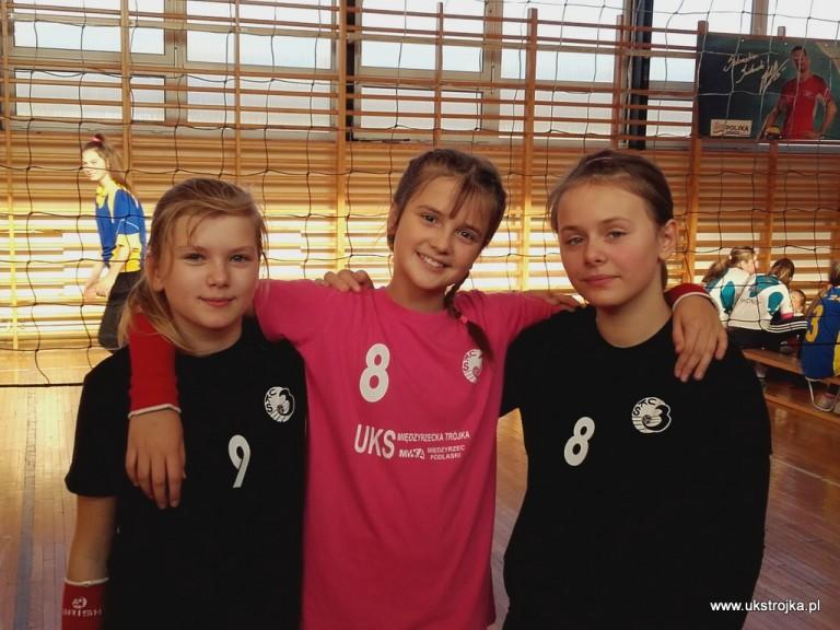 Iza Jeleszuk, Julia Hryciuk, Zuzanna Mróz.