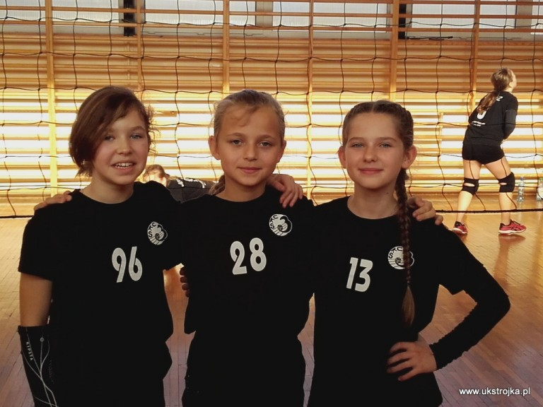Maria Stefaniuk, Oliwia Daniluk, Ola Marciniuk.