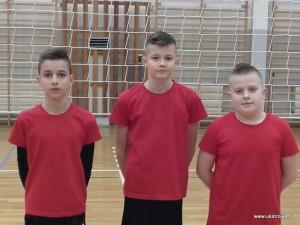 UKS : Bartłomiej Chilicki, Kacper Roszkowski, Kacper Sadłoń