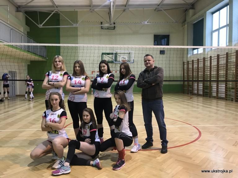 Kadetki UKS Międzyrzecka Trójka 2018/2019