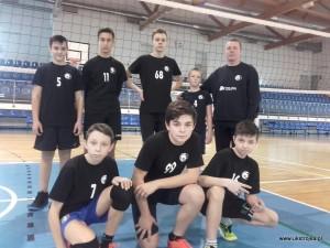 Młodzicy UKS Międzyrzecka Trójka II na 3 turnieju Mistrzostw Województwa