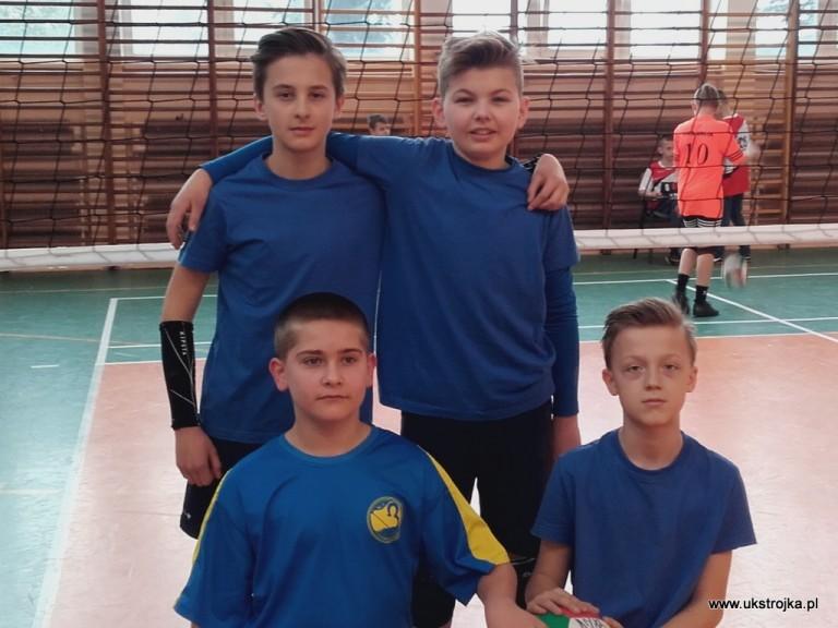 Krasnale Trójki 2019 - Daniluk Wiktor, Grzeszyk Maciej, Złotkowski Maciej, Kurczyński Mariusz.