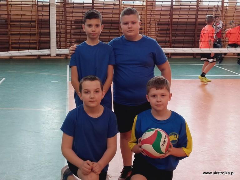 Krasnale Trójki 2019 - Mikołajczuk Igor, Pękała Igor, Wypych Kacper, Raczyński Gabriel.