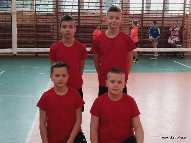 Skrzaty Czwórki 2019 - Roszkowski Kacper, Kiereczyński Maciej, Chilicki Bartek, Sadłoń Kacper.