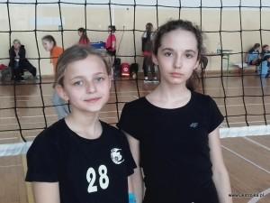 Mistrzynie 3 Turnieju Dwójek - Oliwia Daniluk i Ola Smolińska.