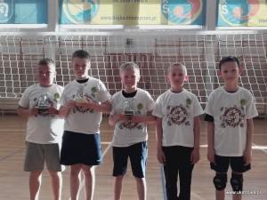 Finaliści 1 Turnieju: Semeniuk Szymon, Więckowski Karol, Mazurek Krystian, Siłuszyk Jakub, Jurkowski Jakub.