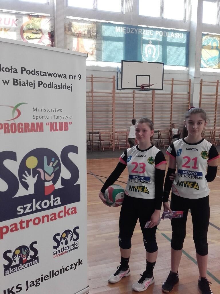 Mistrzynie Gabriela Markowska/Zuzanna Franczuk konkursu odbicia dowolnym sposobem w dwójkach.