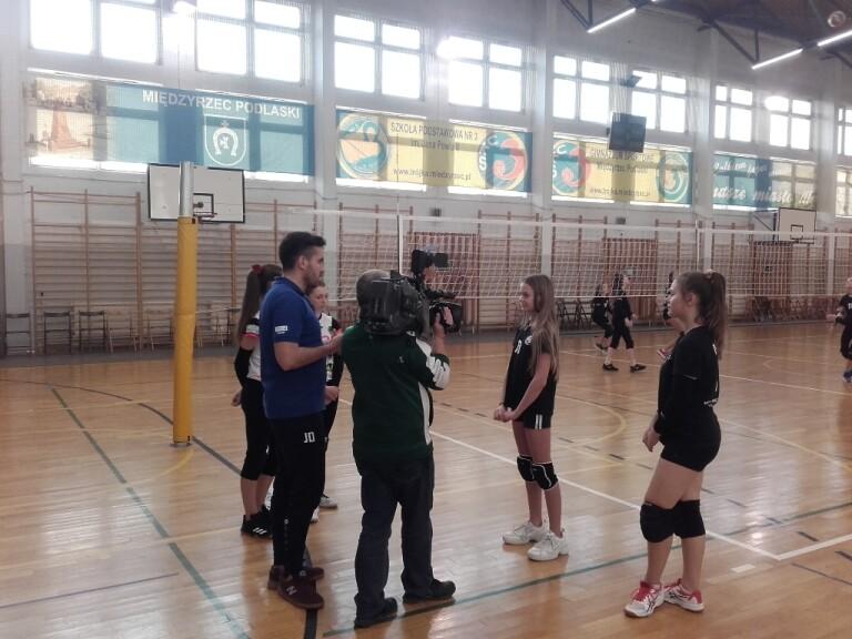 Wywiad w TVP3 LUBLIN z najlepszymi zawodniczkami turnieju.