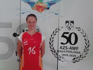Alicja Więckowska oficjalnie zawodniczką AZS-AWF w sezonie 2020/2021