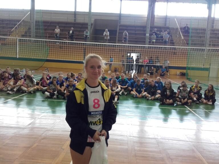 Wyróżniona na turnieju Julia Węgrzyniak