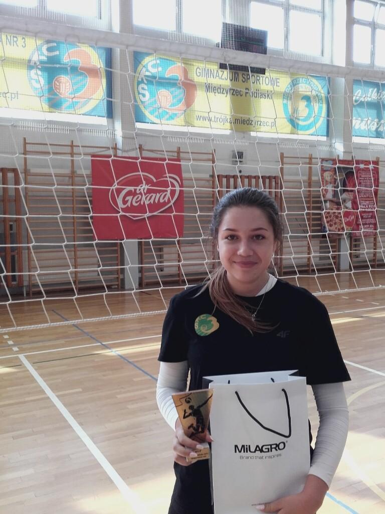 MVP - Łucja Niestoruk.