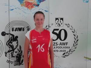 Alicja Więckowska AZS AWF II Liga sezon 2020/2021