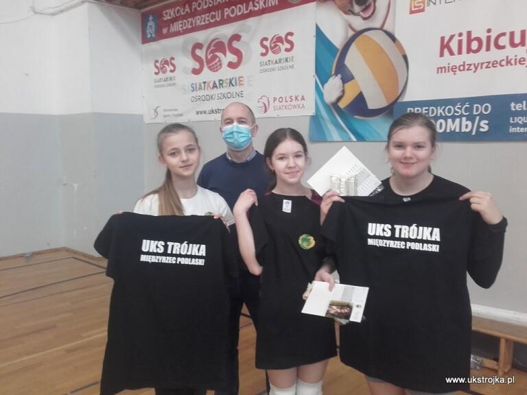 Oliwia Daniluk, Maria Stefaniuk, Izabela Jeleszuk.