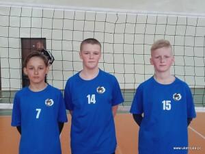 AWANS do Finału Wojewódzkiego w trójkach: Kacper Chilicki, Karol Więckowski, Antoni Kudzio.